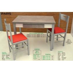 Mesa y sillas de cocina París X