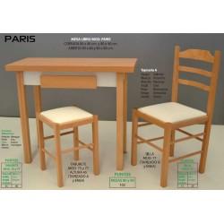 Mesa, silla y taburete de cocina París XI