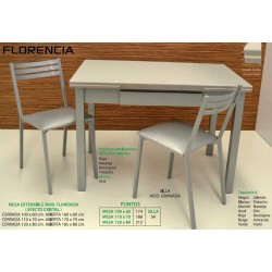 Mesa y sillas de cocina Florencia II