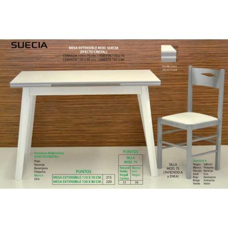 Mesa y silla de cocina Suecia VI