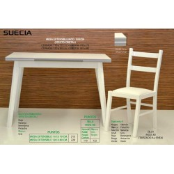 mesas y sillas de cocina Suecia VII