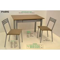 Mesas y sillas de cocina París IV