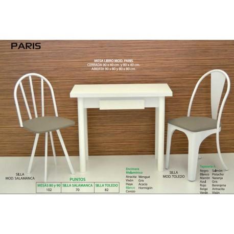 Mesa y sillas de cocina París VI